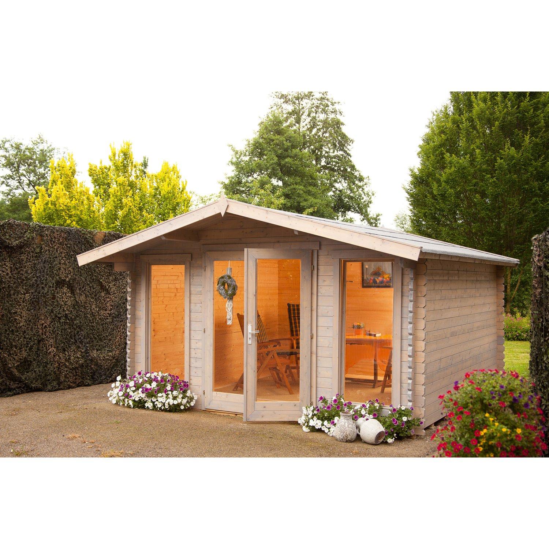 gartenhaus rotterdam modern aus 40mm blockbohlen On blockbohlen gartenhaus 40mm